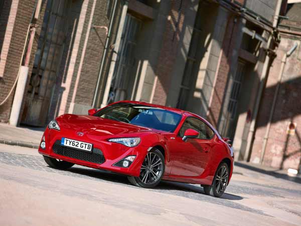 The GT86 is the world's most compact four-seat sports car design