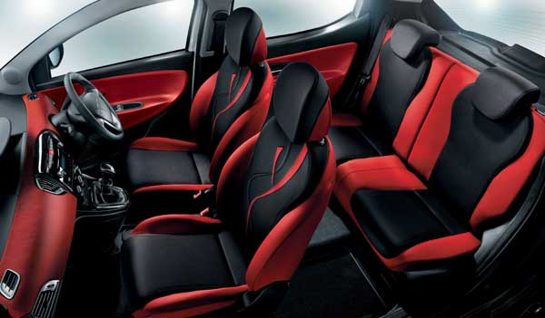 The new Black&Red receives a raft of standard interior features