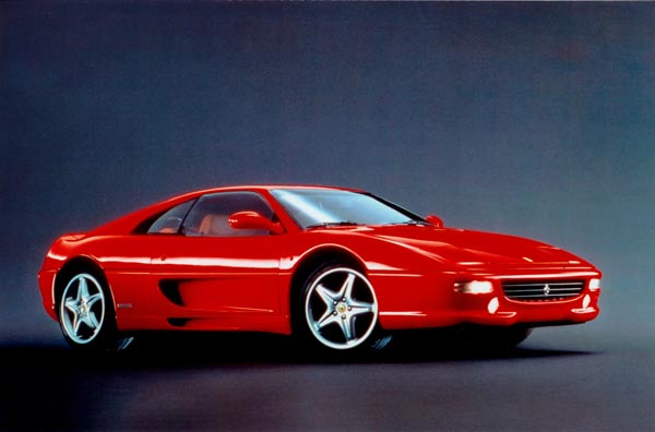 The Ferrari F355 one of the many nemesis' James Bond encounters in GoldenEye
