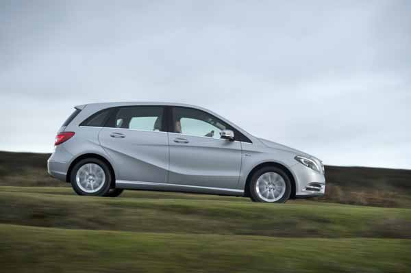 The new B-Class features new petrol and diesel engines as well as new manual and automatic transmissions