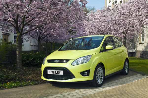 The C-Max is now offered with The Ford C-MAX a 1.0-litre EcoBoost that delivers 55.4mpg and 117g/km CO2