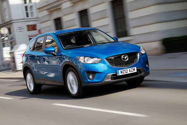 The CX-5 offers best in class CO2 emissions of 119g/km