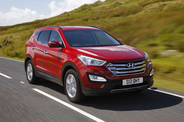Since its launch in the UK in 2001, the Hyundai Santa Fe has sold 37,500 units in total