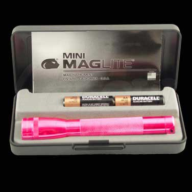 Mini Maglite Box Set Pink