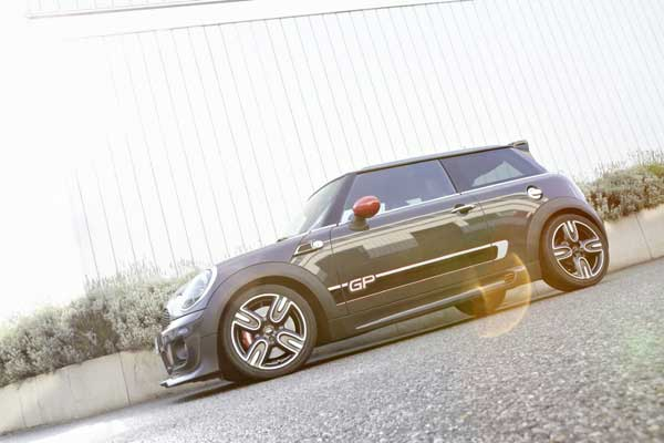 The MINI John Cooper Works GP is the latest incarnation of a racing heritage that dates back more than 50 years
