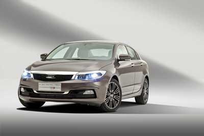 The Qoros 3 Sedan