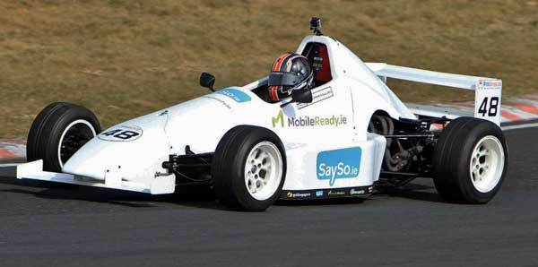 Racing in Kirkistown. Photo by Con Connolly