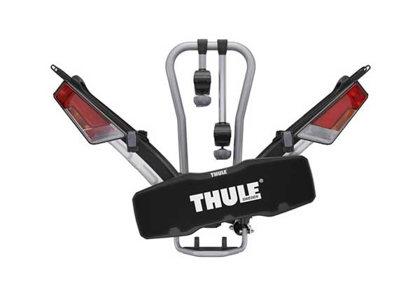 Rapped in the custom made carrying bag (optional accessory), Thule EasyFold very much resembles a travel bag.
