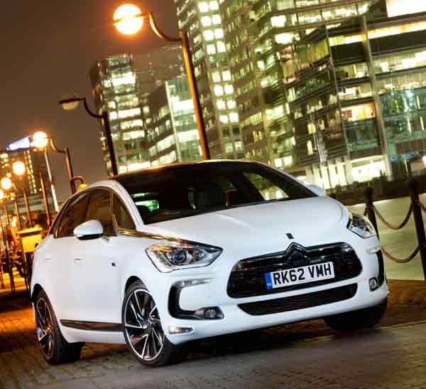 The DS5 is available with Eight body colours, six wheel designs and nine upholstery options.