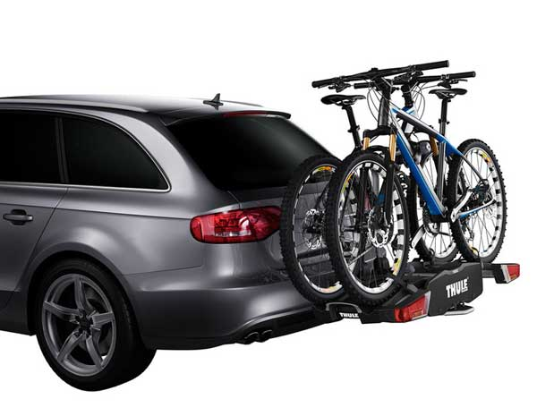 The new Thule EasyFold bike carrier