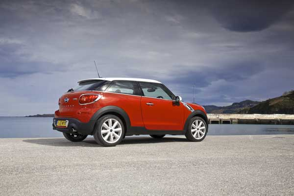 Built on the Countryman platform, bumper to bumper the car is almost identical in size to its sibling.