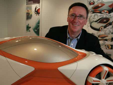 Professor Dale Harrow, head of the automotive design school at the Royal College of Art in London