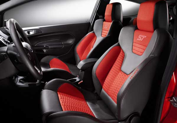 Inside the Fiesta ST