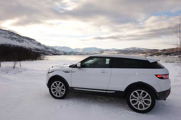 Range Rover Evoque Coupe Dynamic in Fuji White