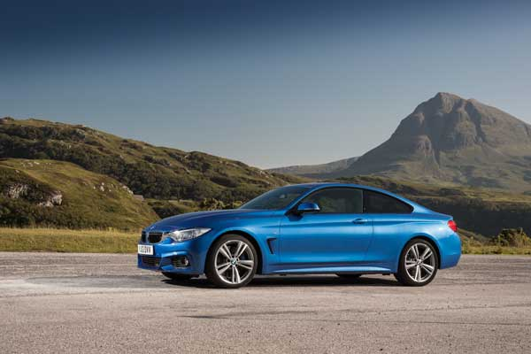 The BMW 4 Series Coupé goes on saleOctober, 2013