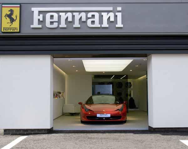 Charles Hurst unveils new Ferrari showroom in Belfast