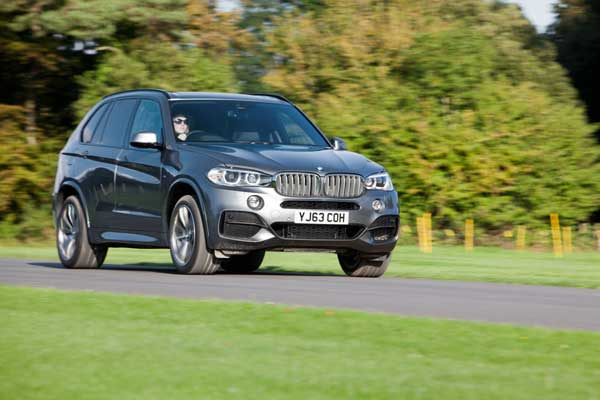 The X5 accounts for almost a third of all BMW models sold globally