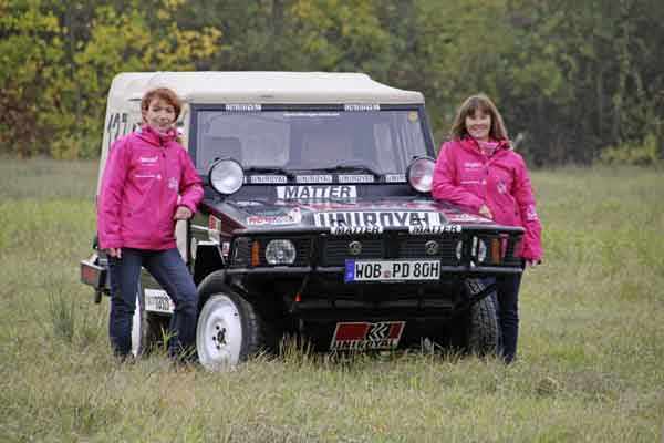 The Edelhoff/Wukovich Team will join the starting line in the United Kingdom with an Iltis from the Volkswagen Classic collection.