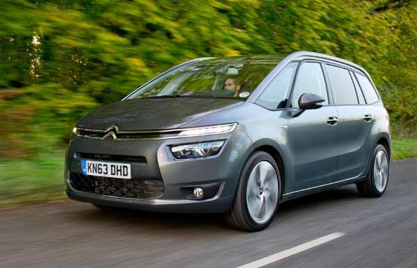 Citroën launches New Grand C4 Picasso seven-seat MPV in the UK