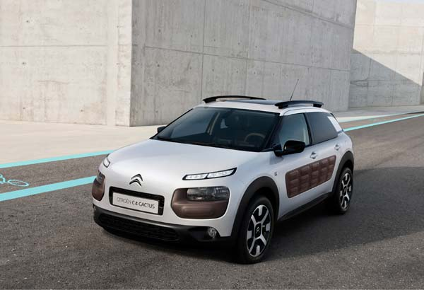 Citroën will showcase their new C4 Cactus