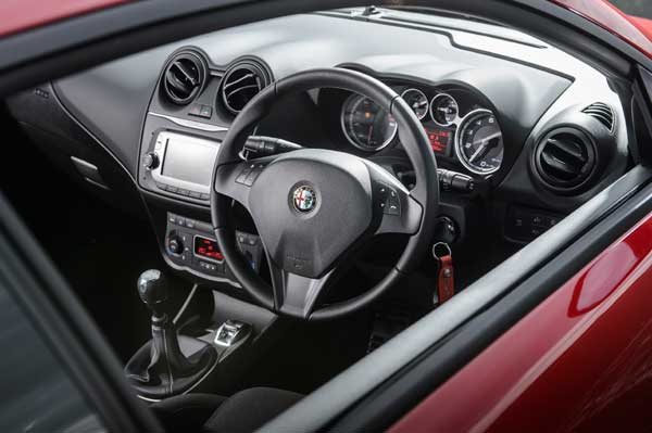 Alfa Romeo MiTo Highlights include a revamped interior
