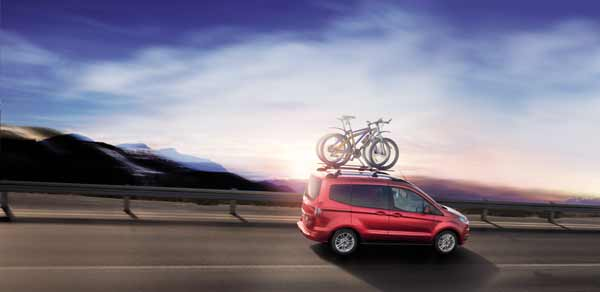 The New Ford Tourneo Courier