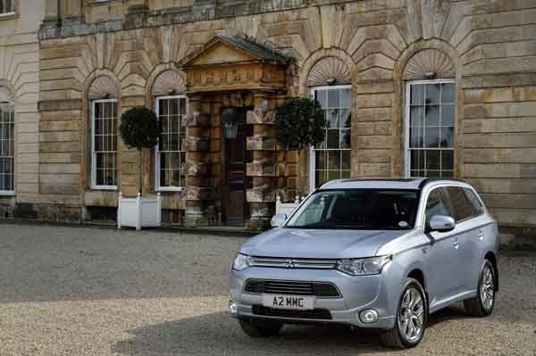 The Outlander PHEV is exempt from Vehicle Excise Duty and is congestion charge-free too.