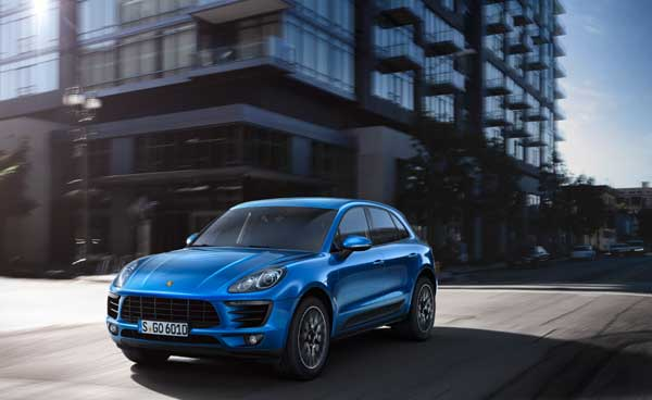 The sports car heritage of the Macan is evident in many details of its design.